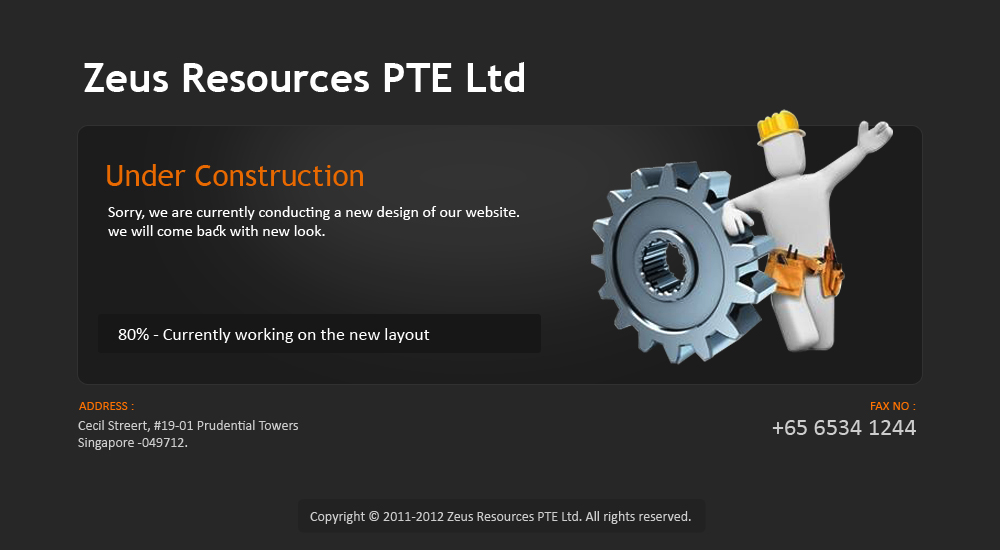 Zeus Resources PTE Ltd